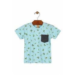 T-shirt niemowlęcy niebieski 5I38A2 Oferta ważna tylko do 2023-12-01