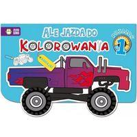 Kolorowanki, Pojazdy. Część 1. Ale jazda do kolorowania - Opracowanie zbiorowe