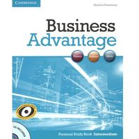 Książki do nauki języka, Business Advantage Intermediate Personal Study Book with Audio CD (opr. miękka)