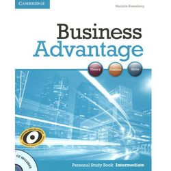 Business Advantage Intermediate Personal Study Book with Audio CD (opr. miękka)