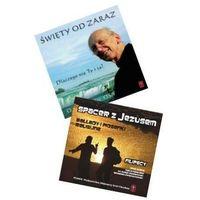 """Książki religijne, """"Święty od zaraz.."""" oraz """"CD - Spacer z Jezusem"""""""