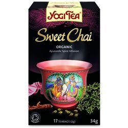 Herbata Słodkie Chai BIO (Yogi Tea) 17 saszetek po 2g