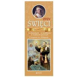 Kalendarz 2021 święci orędownicy w chorobach, w modlitwie, w trudnych sprawach. z receptami św. hildegardy. - hubert wołącewicz
