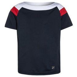 Fila SUSAN Tshirt z nadrukiem peacoat blue