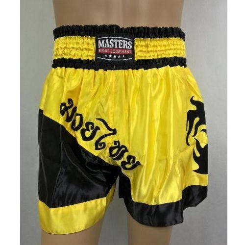 Pozostałe sporty walki, Spodenki thai Masters ST-5 czarno-żółte