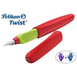 Pióro wieczne Pelikan Twist czerwone
