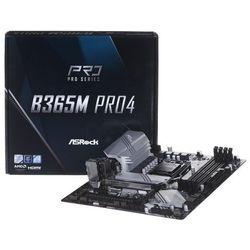 ASRock Płyta główna B365M Pro4 s1151 4DDR4 s1151 4DDR4 HDMI/DVI UATX