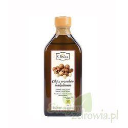 Olej z orzechów macadamia zimnotłoczony, nieoczyszczony 250 ml