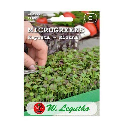 Nasiona, Microgreens Kapusta mizuna 2g