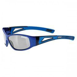 UVEX okulary dziecięce Sportstyle 509 (S3) blue (niebieski) z szybą litemirror silver