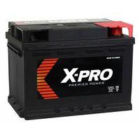 Akumulatory samochodowe, Akumulator X-PRO 60Ah 540A EN niski Prawy Plus