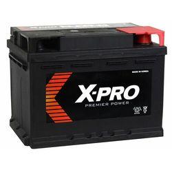 Akumulator X-PRO 60Ah 540A EN niski Prawy Plus