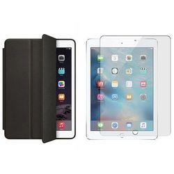 Etui Smart case do iPad Pro 9.7 Czarne + Szkło hartowane - Czarny