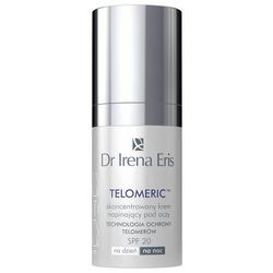Dr Irena Eris Telomeric 60+ krem napinający do okolic oczu SPF 20 (Concentrated Re-Tautening Under Eye Cream) 15 ml