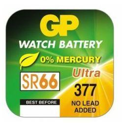 Baterie alkaliczna, SR66, 1.55V, GP, blistr, 10-pack, Ultra plus, cena za 1szt baterii