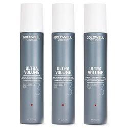 Goldwell StyleSign Naturally Full   Zestaw: spray zwiększający objętość 3x200ml