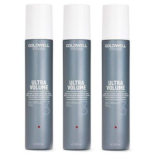 Inne kosmetyki do włosów, Goldwell StyleSign Naturally Full | Zestaw: spray zwiększający objętość 3x200ml