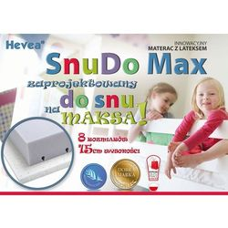 MATERAC WYSOKOELASTYCZNY HEVEA SNUDO MAX 180x80