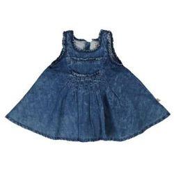STEIFF Girls Mini Sukienka dżinsowa light blue denim