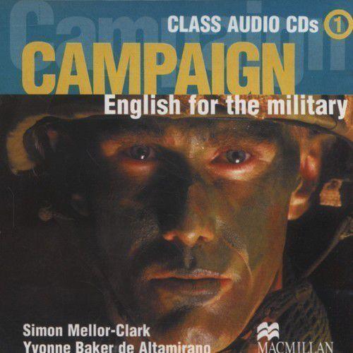 Książki do nauki języka, Campaign 1 CD (2szt)