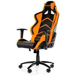AKracing Player Orange Krzesło gamingowe - Czarno-pomarańczowy - Skóra PU - 150 kg