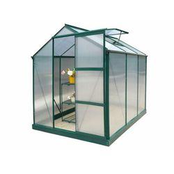Szklarnia ogrodowa z poliwęglanu 3,4m² GIARDINA z podstawą