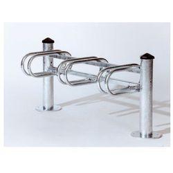 """Stojak rowerowy typu """"Merkury"""" jednostronny - 3 stanowiska, powierzchnia ocynkowana ogniowo"""