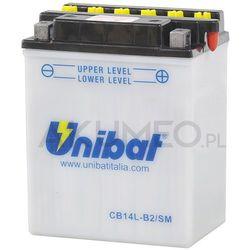 Akumulator UNIBAT CB14L-B2/SM 12V 14Ah 190A prawy+ oP