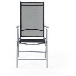 Elegancke krzesło aluminiowe meble ogrodowe CATANIA