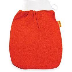 Rękawica Kessa Premium Hammam do peelingu i masażu ciała - pomarańczowa