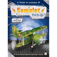 Książki dla dzieci, Model do złożenia. Samolot PWS-26 + zakładka do książki GRATIS (opr. broszurowa)
