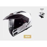 Kaski motocyklowe, KASK LS2 FF324 METRO EVO SOLID WHITE Biały - model: Rok 2019! (1)