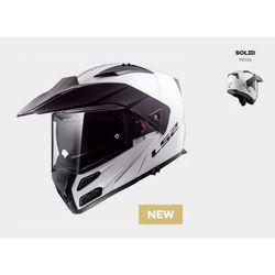 KASK LS2 FF324 METRO EVO SOLID WHITE Biały - model: Rok 2019! (1)