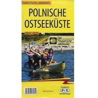 Mapy i atlasy turystyczne, Polnische Ostseekuste Touristische Landkarte 1:200 000 (opr. miękka)