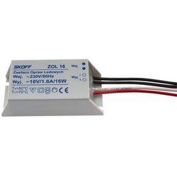 Zasilacz ZOL16 10V 16W - Rabaty za ilości. Szybka wysyłka. Profesjonalna pomoc techniczna.