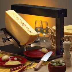 Raclette AMBIANCE firmy TTM - piecyk na 1/2 kręgu sera