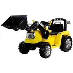 Traktorek koparka dla dzieci na akumulator zp1005 żółty