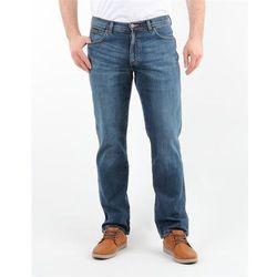 Spodnie Męskie Wrangler12O3339E Arizona Stretch BURNT BLUE