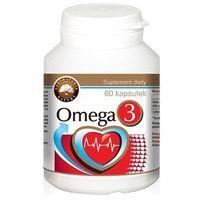 Witaminy i minerały, Omega-3 1000 mg - 60 kaps