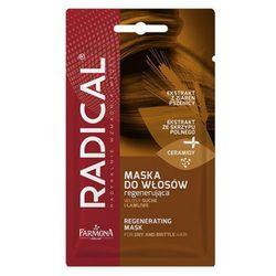 Farmona RADICAL Maska do włosów regenerująca włosy suche i łamliwe (20 g.)