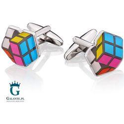 Spinki do mankietów X2 Kostka Rubika