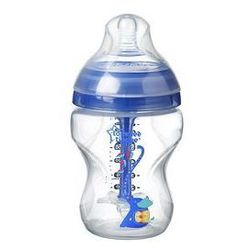Butelka antykolkowa 260 ml Boy Advanced Tommee Tippee (granatowa)