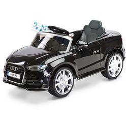 Samochód na akumulator Audi A3 Toyz + Pilot Czarny