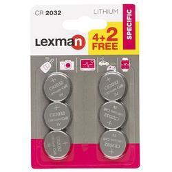 Bateria LITOWA CR2032 6 SZT. LEXMAN