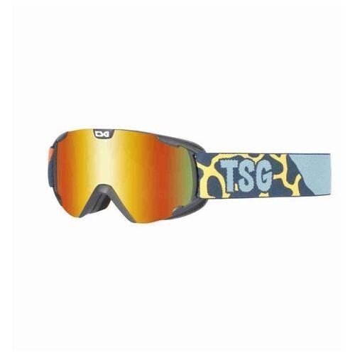 Kaski i gogle, gogle snowboardowe TSG - goggle expect mini safari/red chrome (316) rozmiar: OS