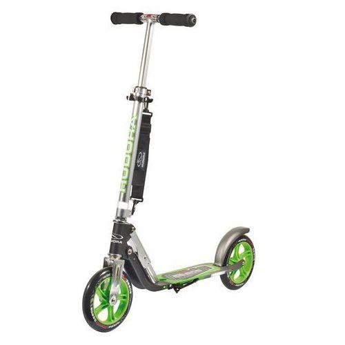 Hulajnogi, HUDORA Hulajnoga Big Wheel GS 205 kolor czarno-zielony 14695/01