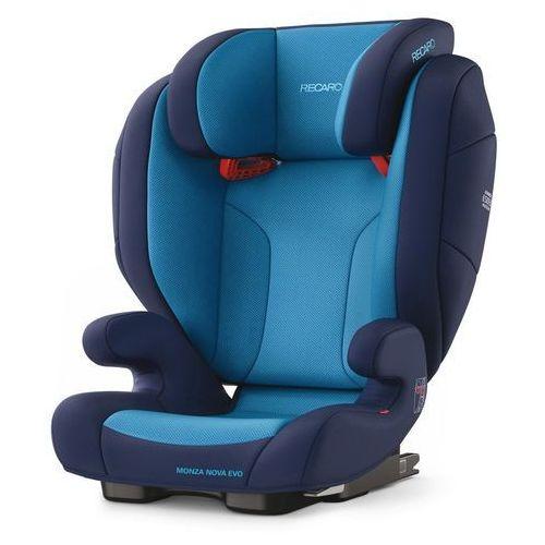 Foteliki grupa II i III, RECARO Fotelik 15-36kg Monza Nova Evo Seatfix Xenon Blue - BEZPŁATNY ODBIÓR: WROCŁAW!