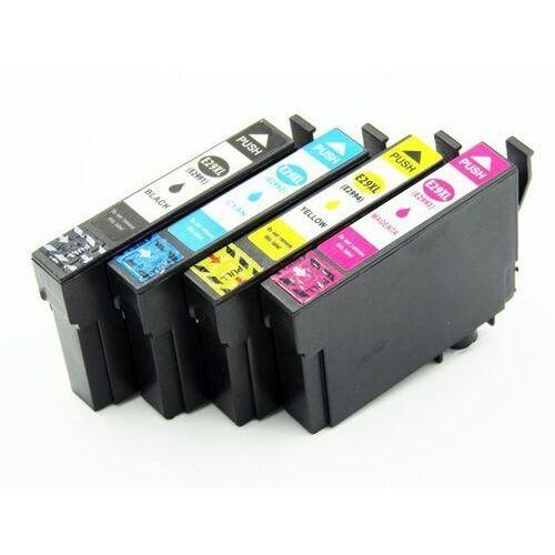 Tusze do drukarek, Zestaw tuszy 29XL do Epson XP235 XP245 XP332 XP335 XP432 XP435 (T2991 2 3 4 ) CMYK / 18,2ml + 14ml CMY / zamiennik Epson 29XL / DD-Print