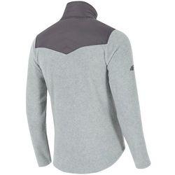 Bluza polarowa męska 4F PLM002 jasny szary melanż 4f na m14 (-36%)