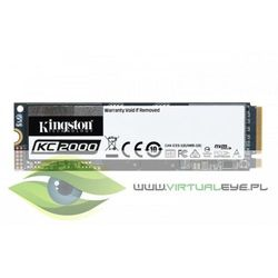 Kingston Dysk SKC2000 250GB M.2 2280 NVMe 3000/1100 MB/s